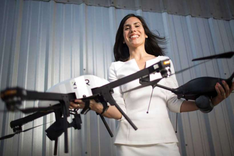 - This Latina Air Force Veteran Is Changing the Face of STEM and the Drone Industry. This engineer has a wonder woman resume that includes serving in the Air Force, being named by Fortune as one of the women shaping the drone industry and a Forbes Top 25 Veteran Founded Company.
