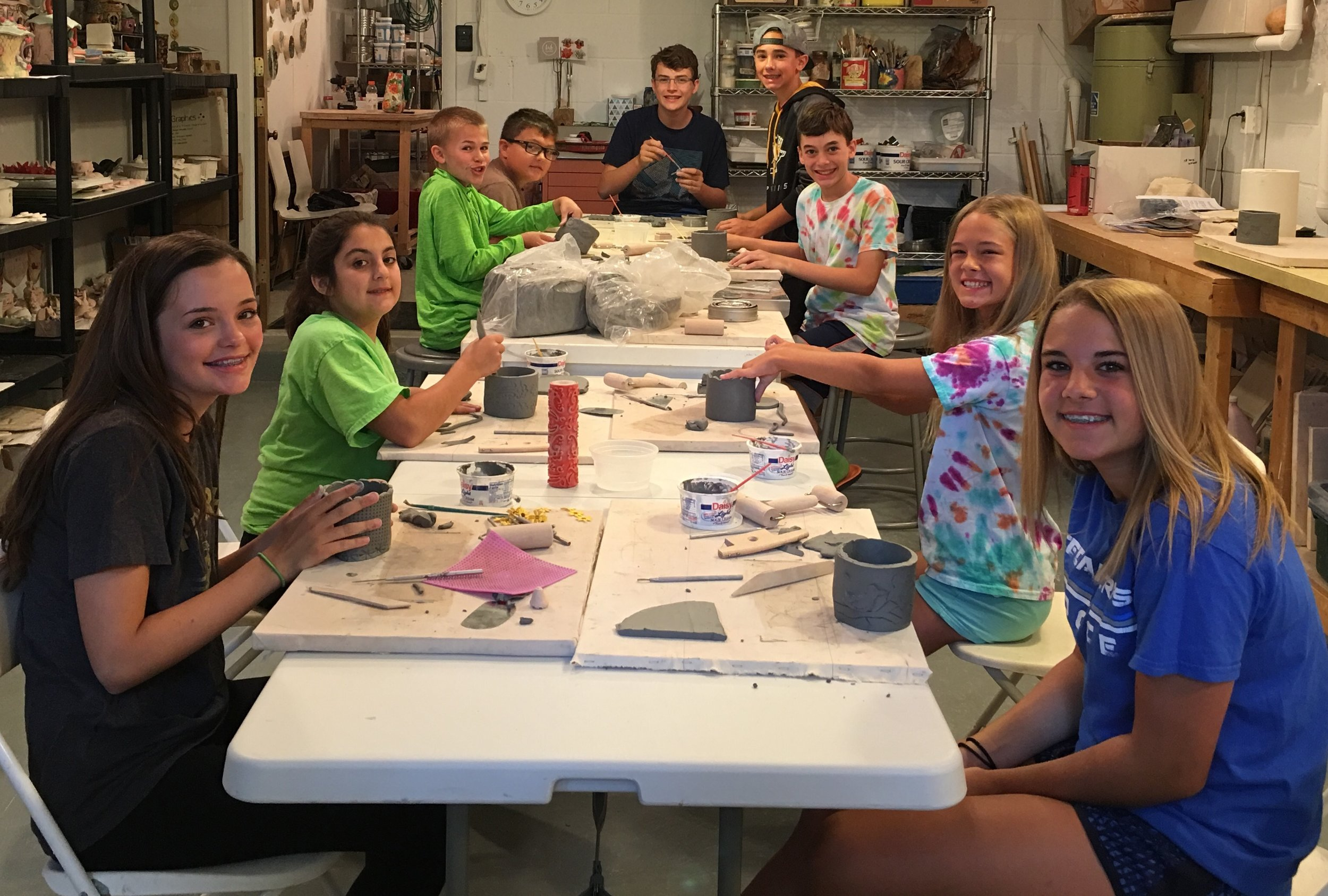 July Summer Clay Camp