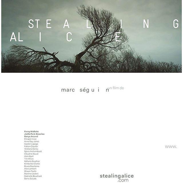 Notre belle affiche ! #marcseguin #stealingalice #fnc2016