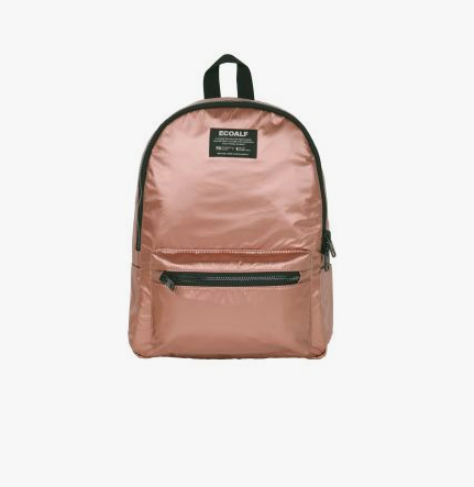 EcoAlf  'OSLO' WATERPROOF BACKPACK BRONZE. Also available in black. On sale at the  Design Museum  for £100.