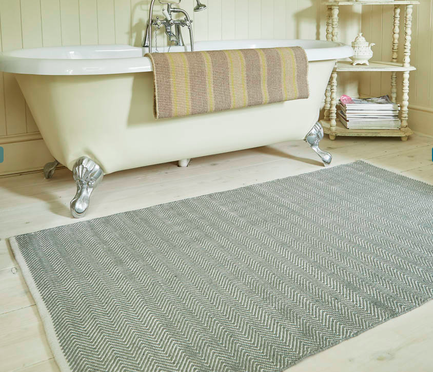 Herringbone Rug by  Weaver Green  from £40