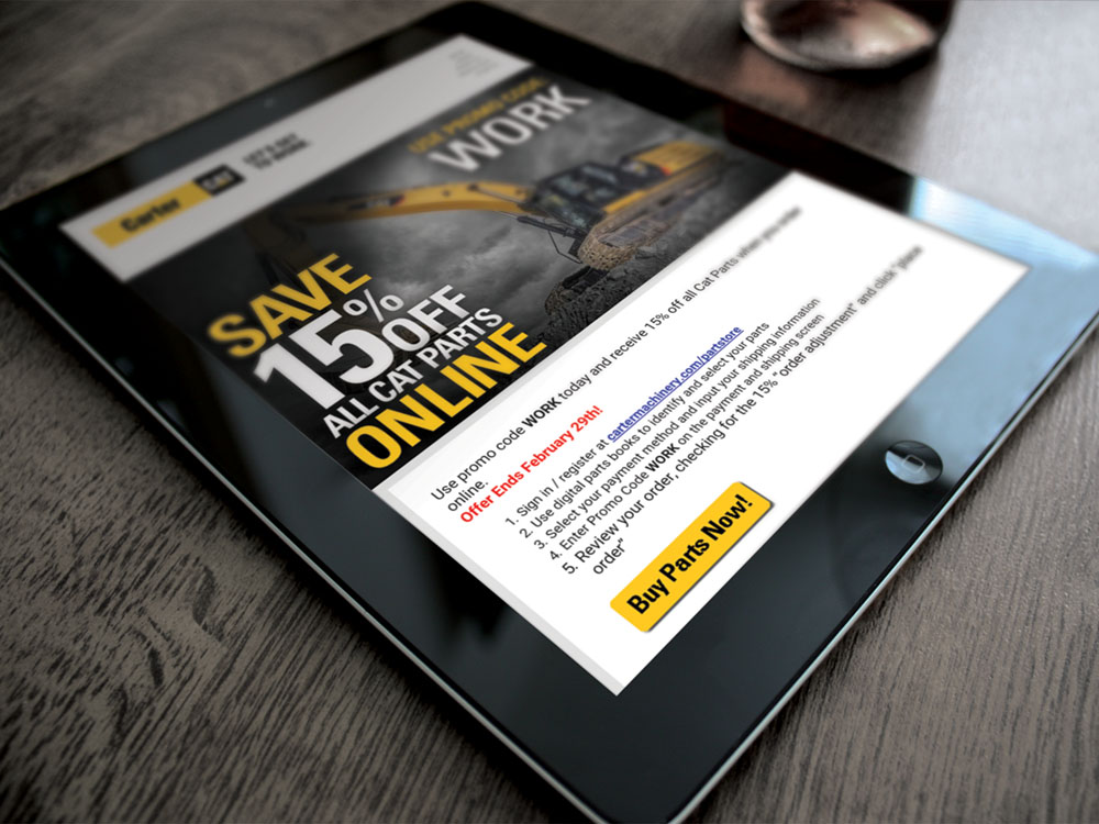 PartStore email campaign