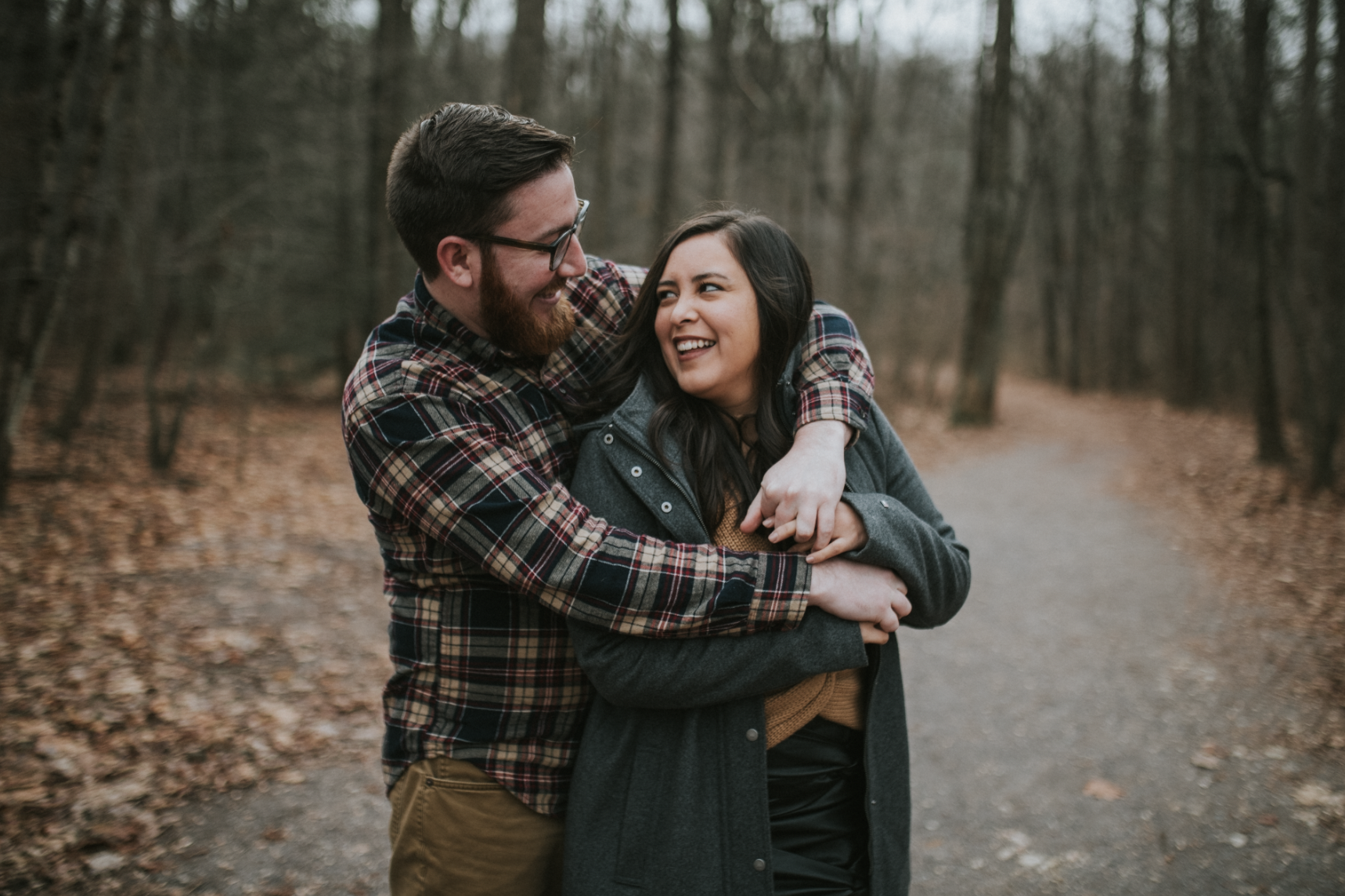 matt-natalia-winter-woods-engagement-session-pennsylvania-wedding-photographer-2