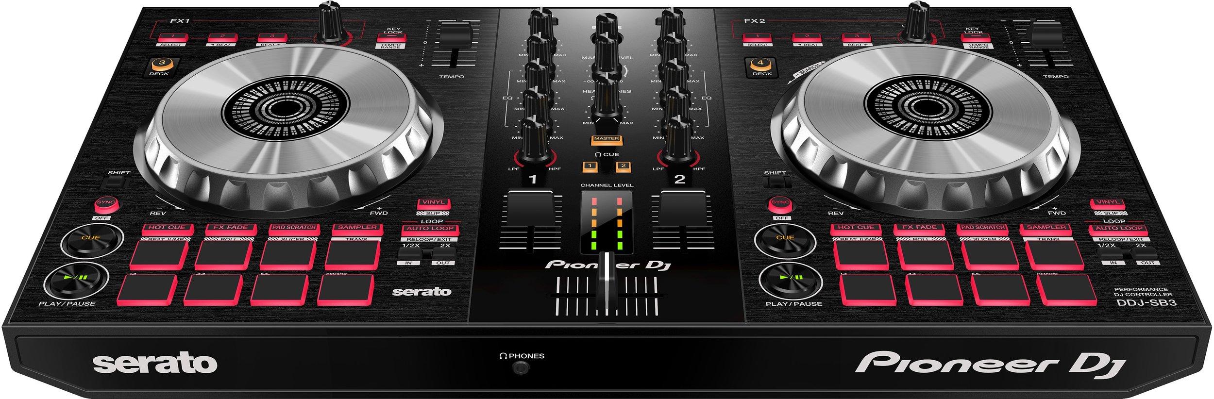 Pioneer DDJ-SB3 - £229 - Serato DJ Intro