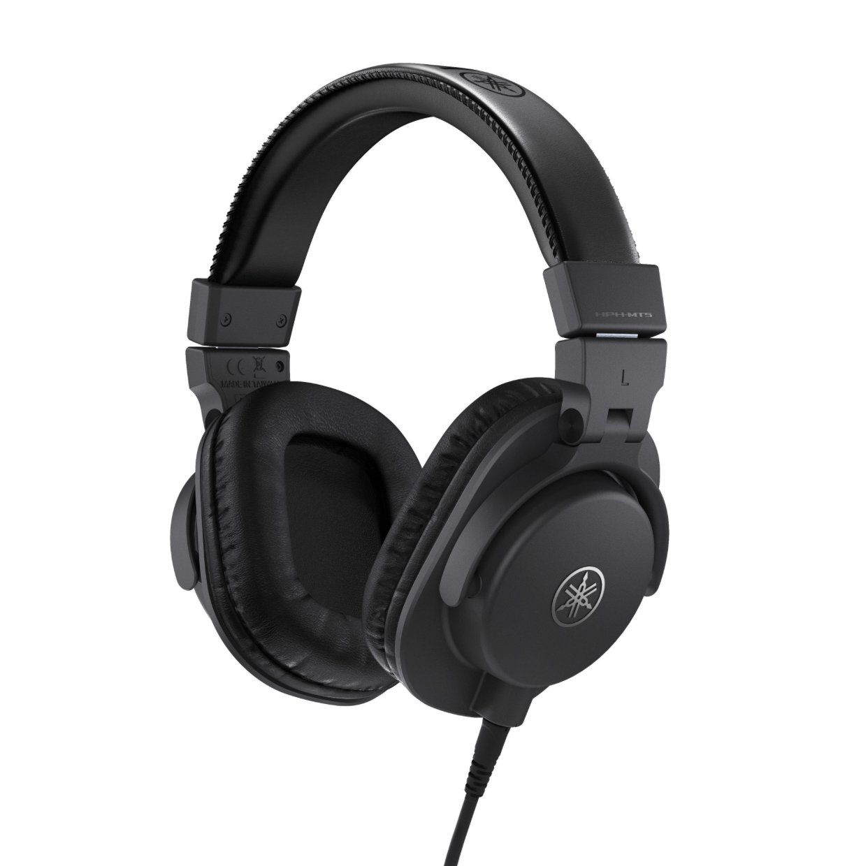 Yamaha HPH-MT5 - MT Series studio monitor headphones remain true to Yamaha's fundamental concept, delivering precision sound reproduction that meets the demanding requirements of today's professional studio and monitoring applications. With unmatched fidelity in a sturdy yet stylish design, and the durability to hold up to the rigors of the road, Yamaha's MT Series headphones offer a level of comfort you'll be thankful for after long hours in a critical listening environment. High-grade monitor headphones that deliver a balanced sound faithful to the source. Perfect for in the studio, music production at home, or for personal listening. Great portability thanks to the folding arm and 250g light weight hardware designing. These headphones are a good contender for those buying on a budget.Price: £85Cup Type: ClosedFrequency response: 20Hz - 20kHzImpedance: 51 Ω (at 1kHz)Cable: 3m Straight