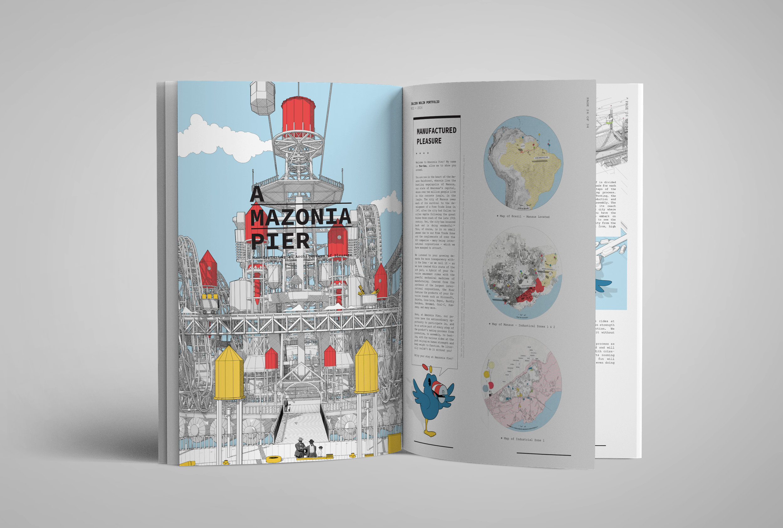 Julien Nolin Architecture Portfolio Amazonia Pier Cover