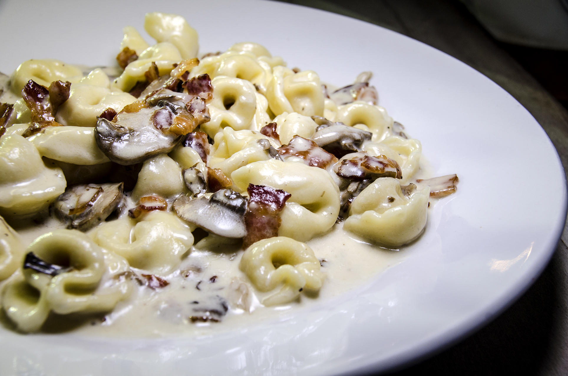 The Alfredo sauce definitely helped add some depth and character to this dish..