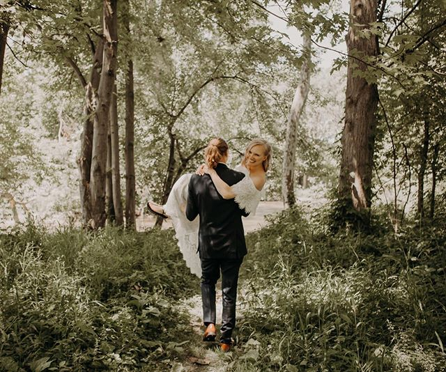 We were all nervous about ticks but Zach was so down to venture through the woods and carry his new wifey through all the tall grasses. - Happy Sunday! So excited about all of the mini sessions I'll be offering this year. Be on the lookout for that schedule to post today! - #svadnaisphotography #weddingday #weddingrings #weddinginspo #weddigphoto #weddingphotography #weddingphotographer #michigrammers #michiganphotographer #bride #bridestyle #bridalsquad #brideandgroom #photography #lovebirds #junebugsweddings #weddetroit #stylemepretty #portraitphotographer #makeportraits #weddings #detroitweddingphotographer #potd #couplesinlove  #michiganweddingphotographer #loveauthentic #loveintentionally #photobugcommunity #midwestlovestories