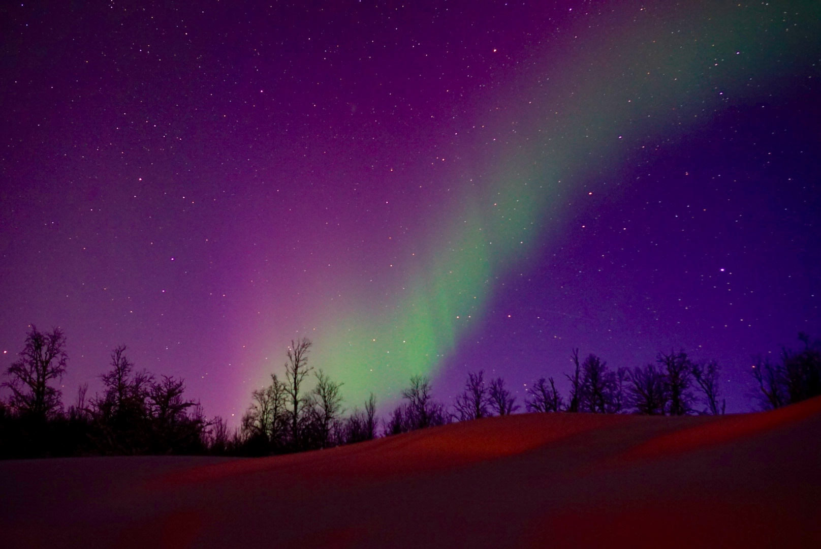 You need to go chasing the Northern Lights