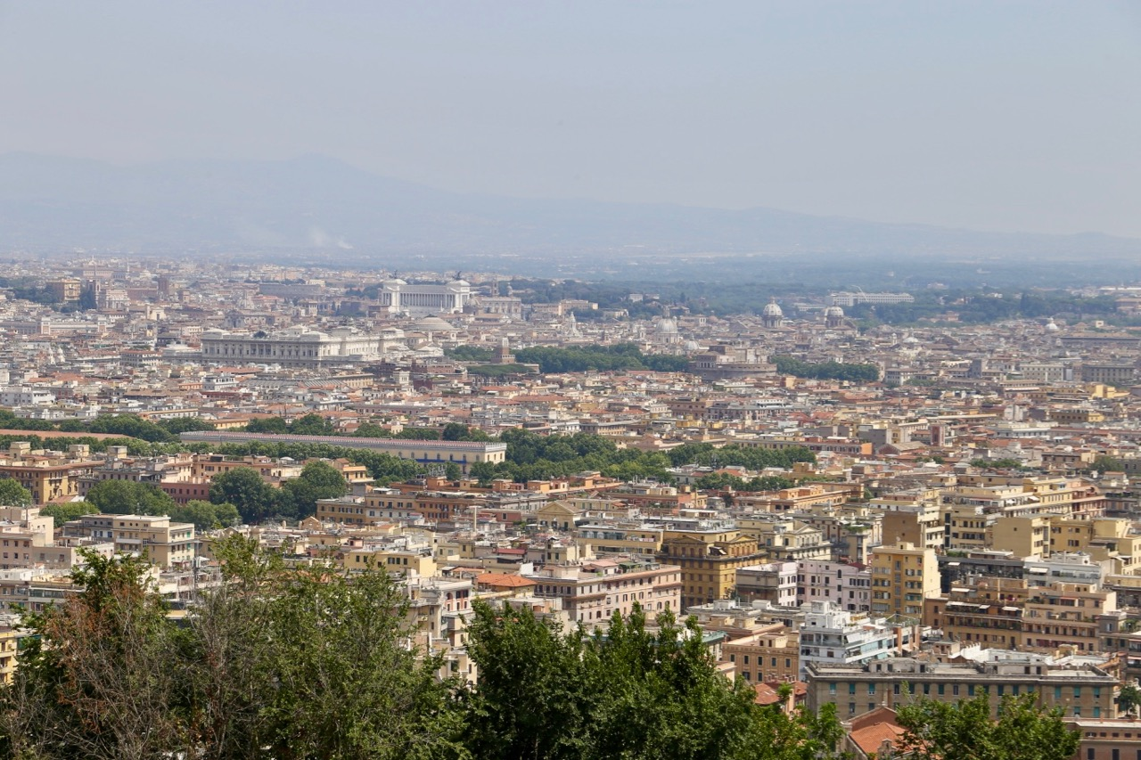 Views across Rome