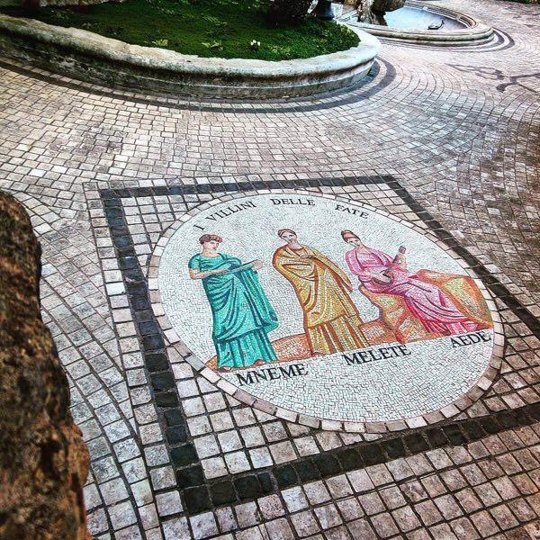 A beautiful mosaic near the frog fountain.jpg