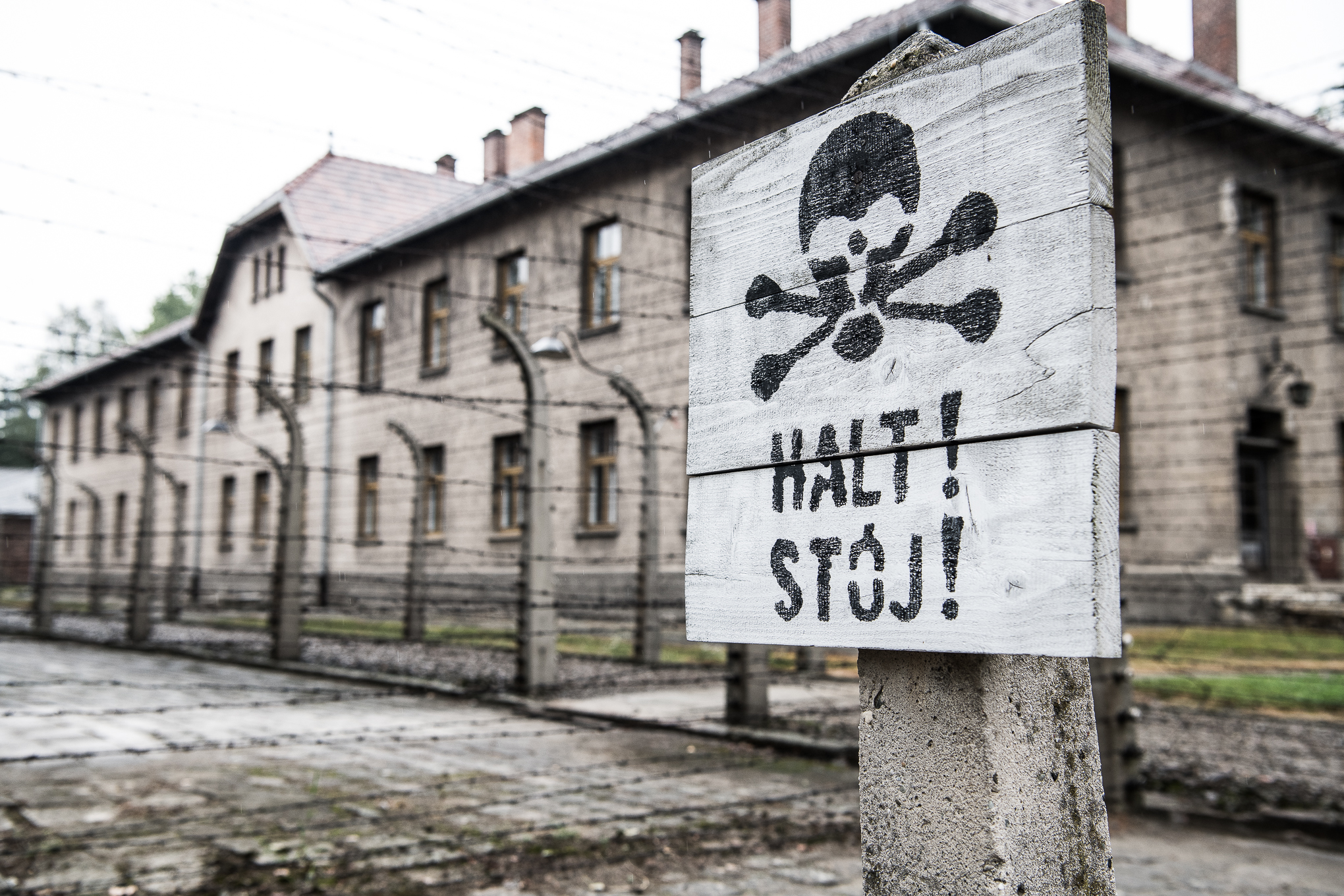Walking around Auschwitz is a chilling experience