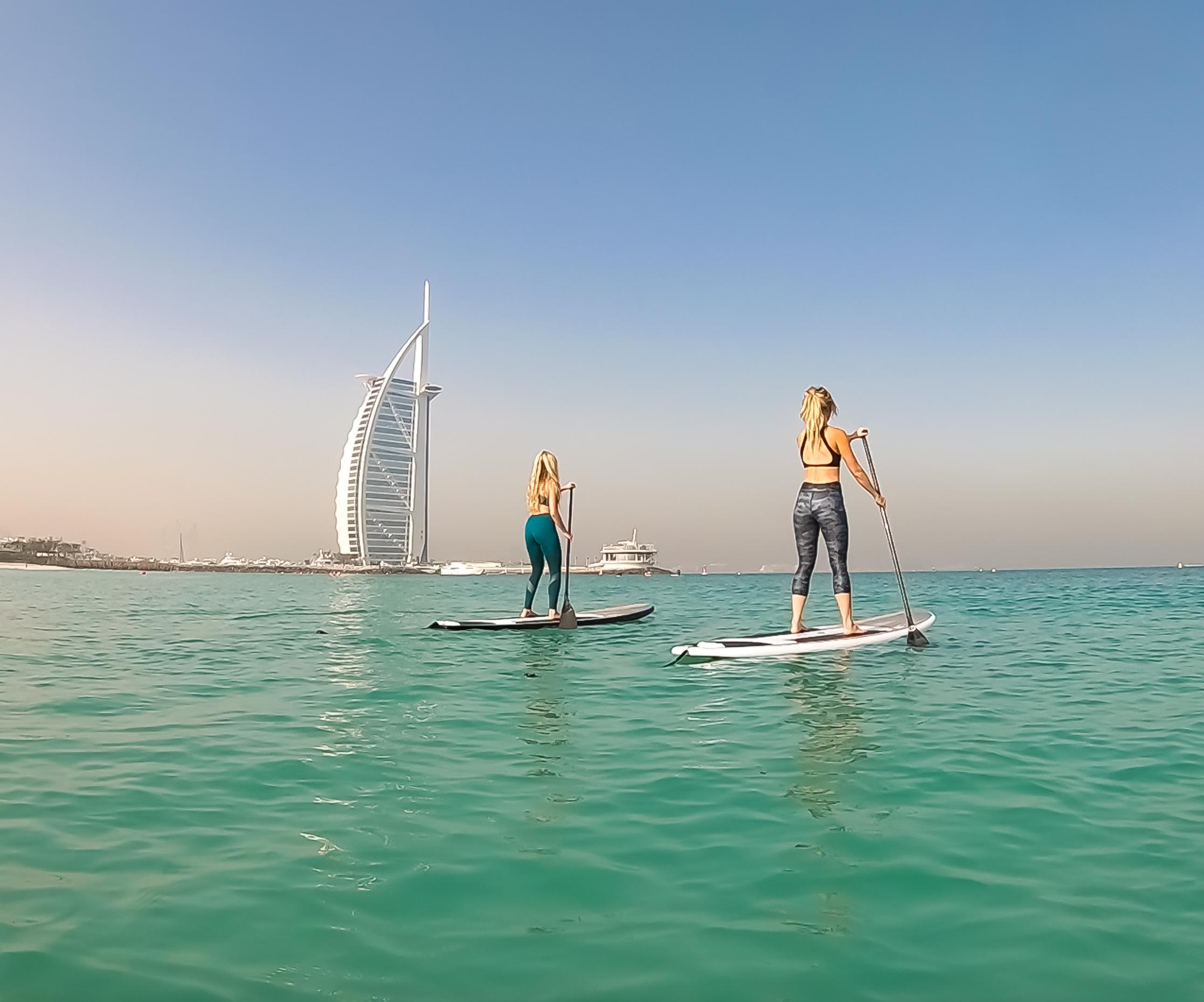 Enjoy a paddle board……..