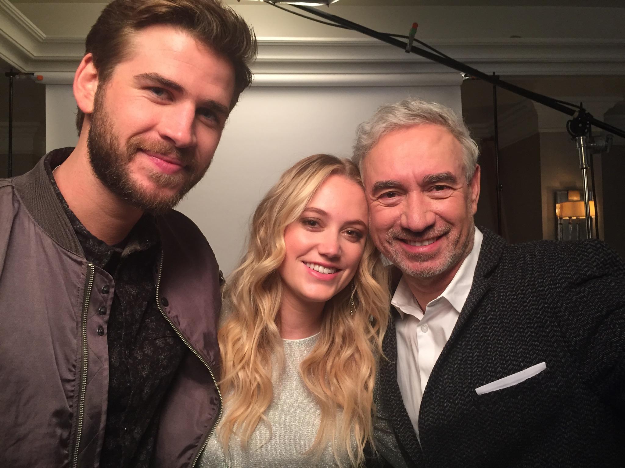 Roland, Liam, and Maika
