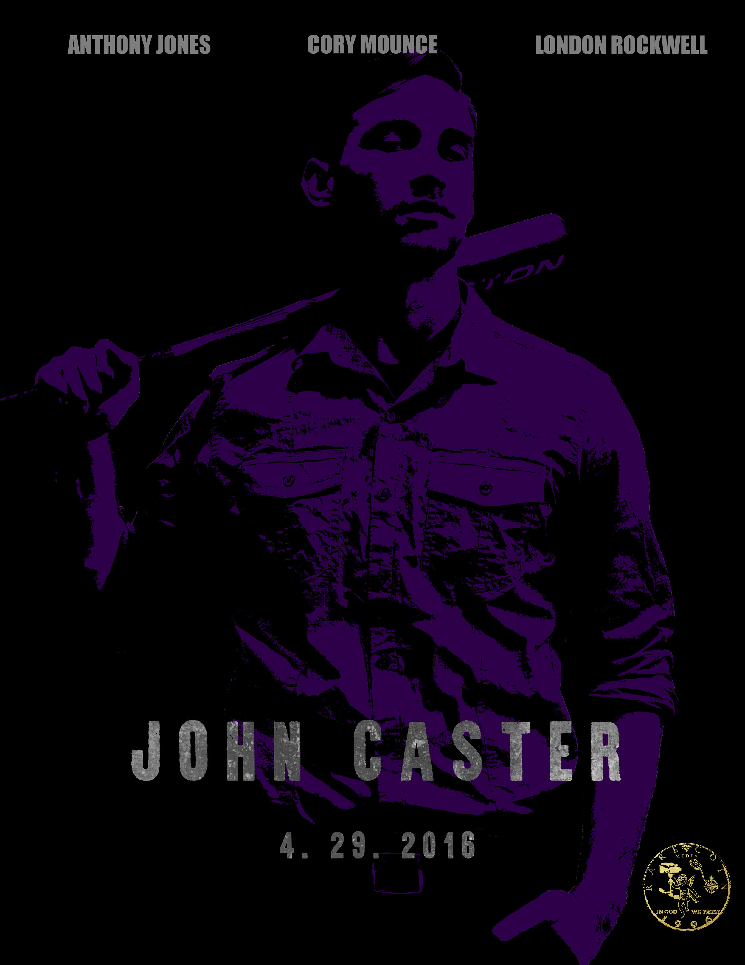 John Caster - JOHN CASTER [2016] (Feature Film) - Writer, Director, ProducerThe first project completed by Rare Coin Media, John Caster is about three private investigators who solve a crime and in doing so get caught in the middle of a drug lord and a police commissioner's long war for the streets. With his smarts and his wit, John has to overcome the odds and work with his team to find out who he should trust and who he should bring in.
