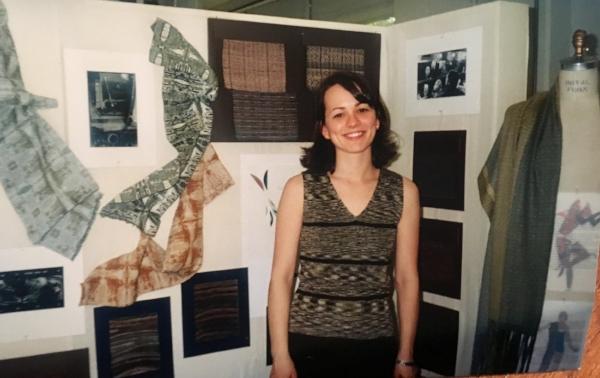 My senior year design show, 1998