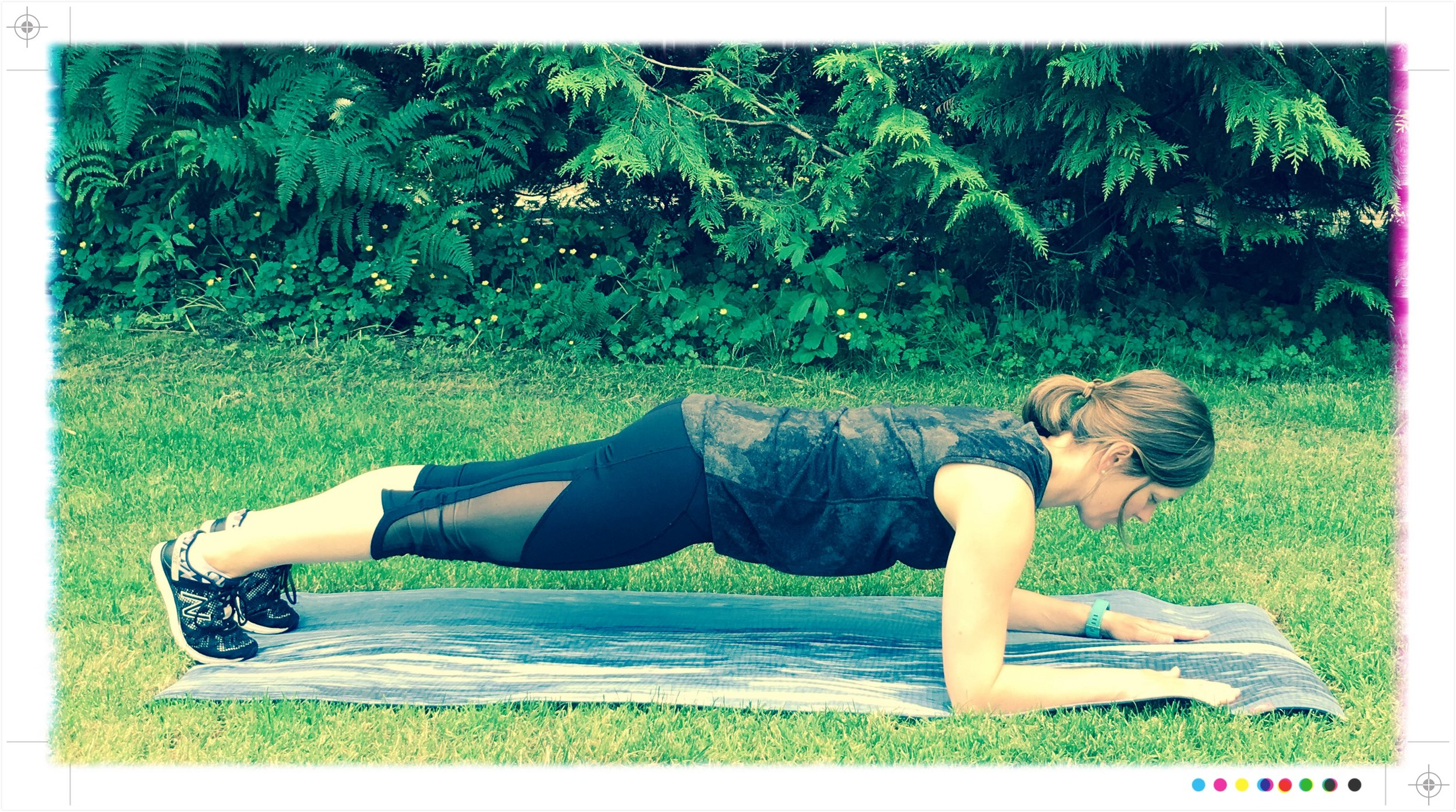 Plank. Because it's a total body exercise that when done correctly, gets it ALL warmed up.