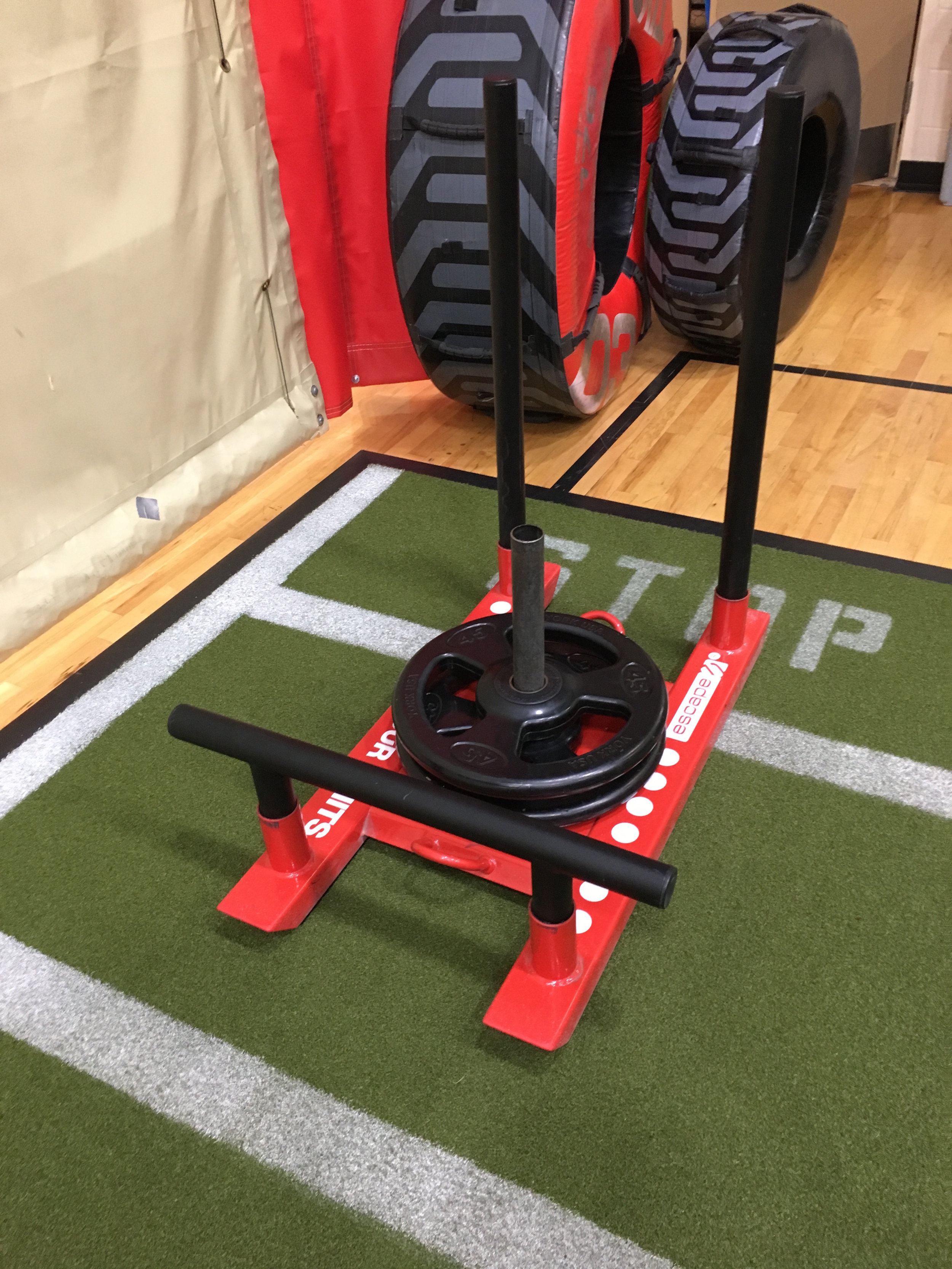 - Monday: Went to the gym with my nephew. Focused mostly on the back side of the body.Started with 15 minutes on the Stairmaster. Then did some single leg deadlifts, TRX hamstring curls, TRX bridges, TRX triceps, TRX pikes, and a 5 minute finisher playing on the prowler sled.