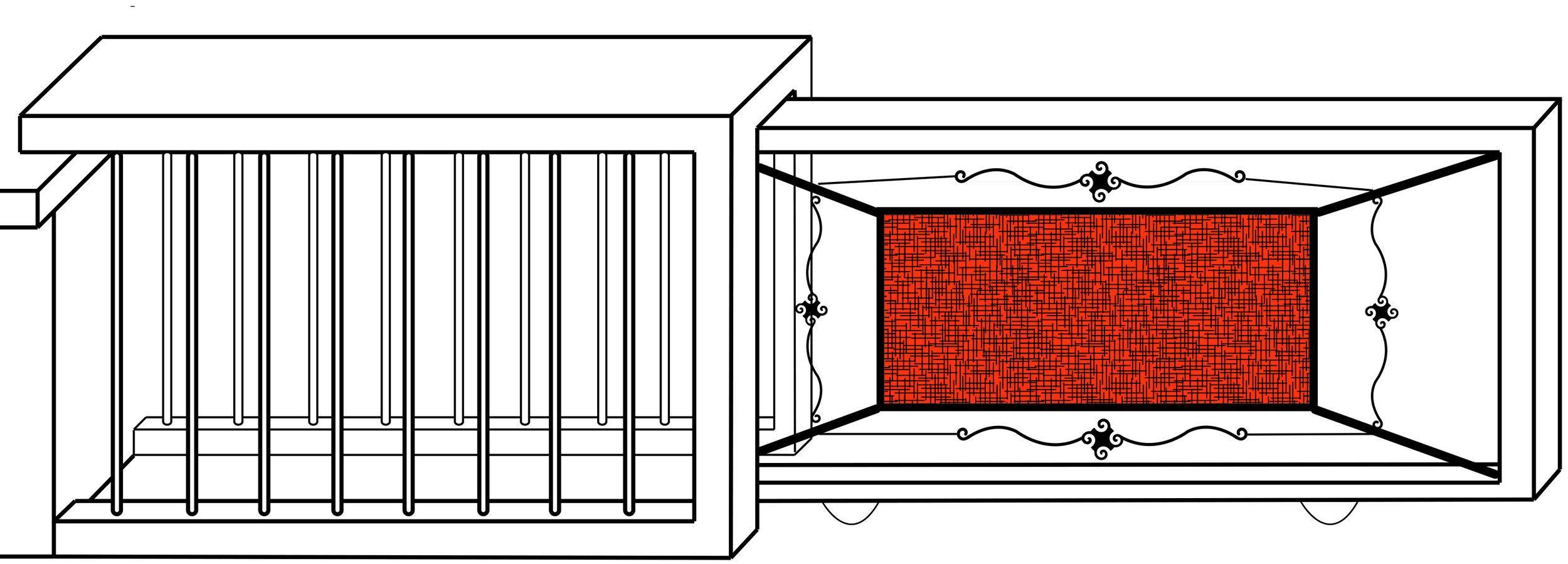 Retractable fencing