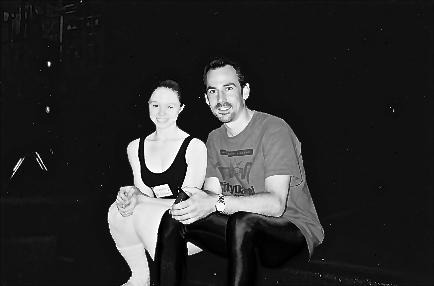 Myself and Wes Chapman at the American Ballet Theater summer workshop that changed my dancing for the better.