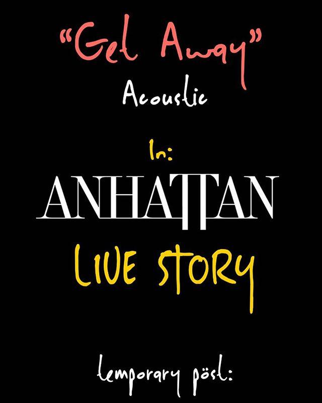 #GetAway #AnhaTTan WATCH LIVE STORY🎶🤘🏼🖤