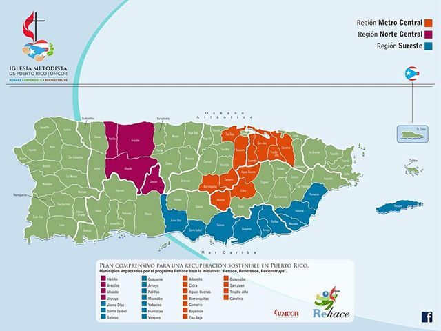 ¿Sabías que estamos en 25 municipio de Puerto Rico? . Le brindamos ayuda a todas las familias afectadas por el huracán Irma y María. Hemos alcanzado más de 1,277 familias. Si es uno de los afectados o conoces alguien ¡comunícate con nosotros! . 787 765 3105 I 787 765 3120 I 787 765 3195 . . . . . .  #rehace #corazondeservicio #puertorico #huracanirma #huracanmaria @umc_umcor @metodistapr @cmjnuevotiempo