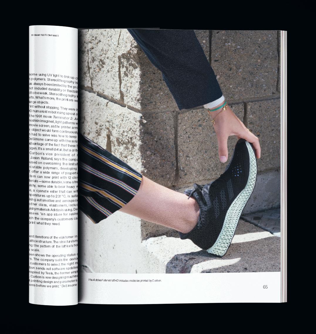 Adidas Futurecraft 4D  Photograph by Josh Mathews