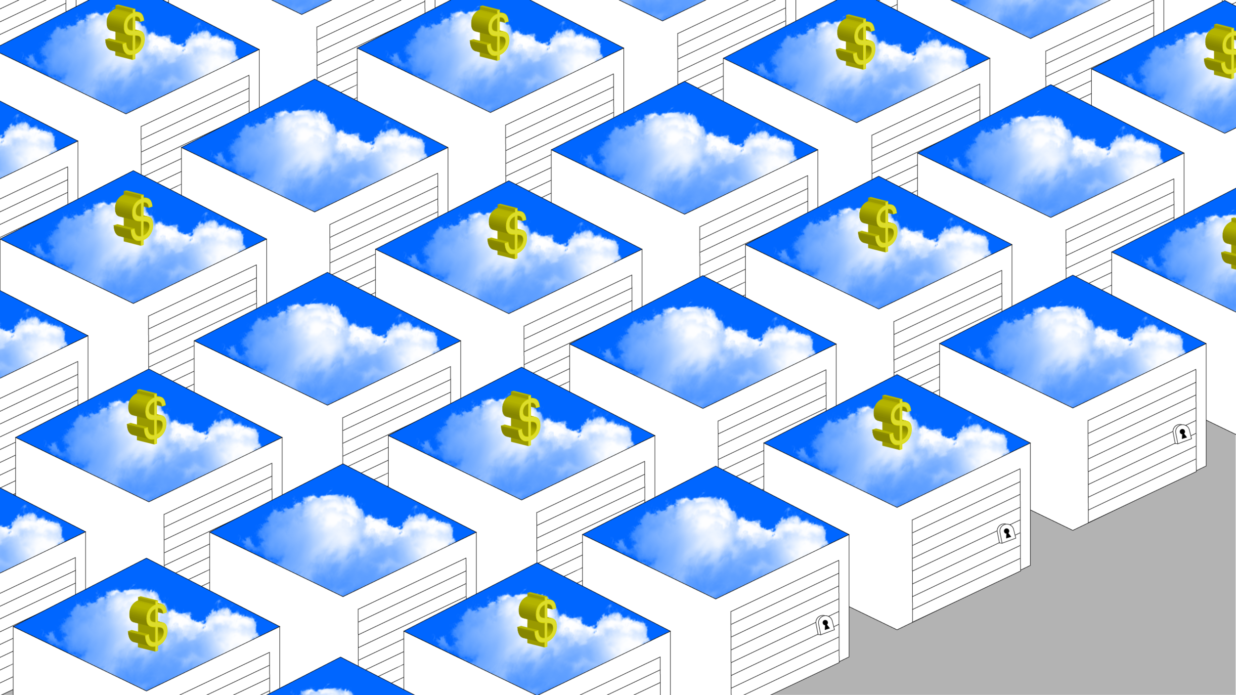 "Illustration for MIT Technology Review ""Blockchain's Dot-Com Boom?"
