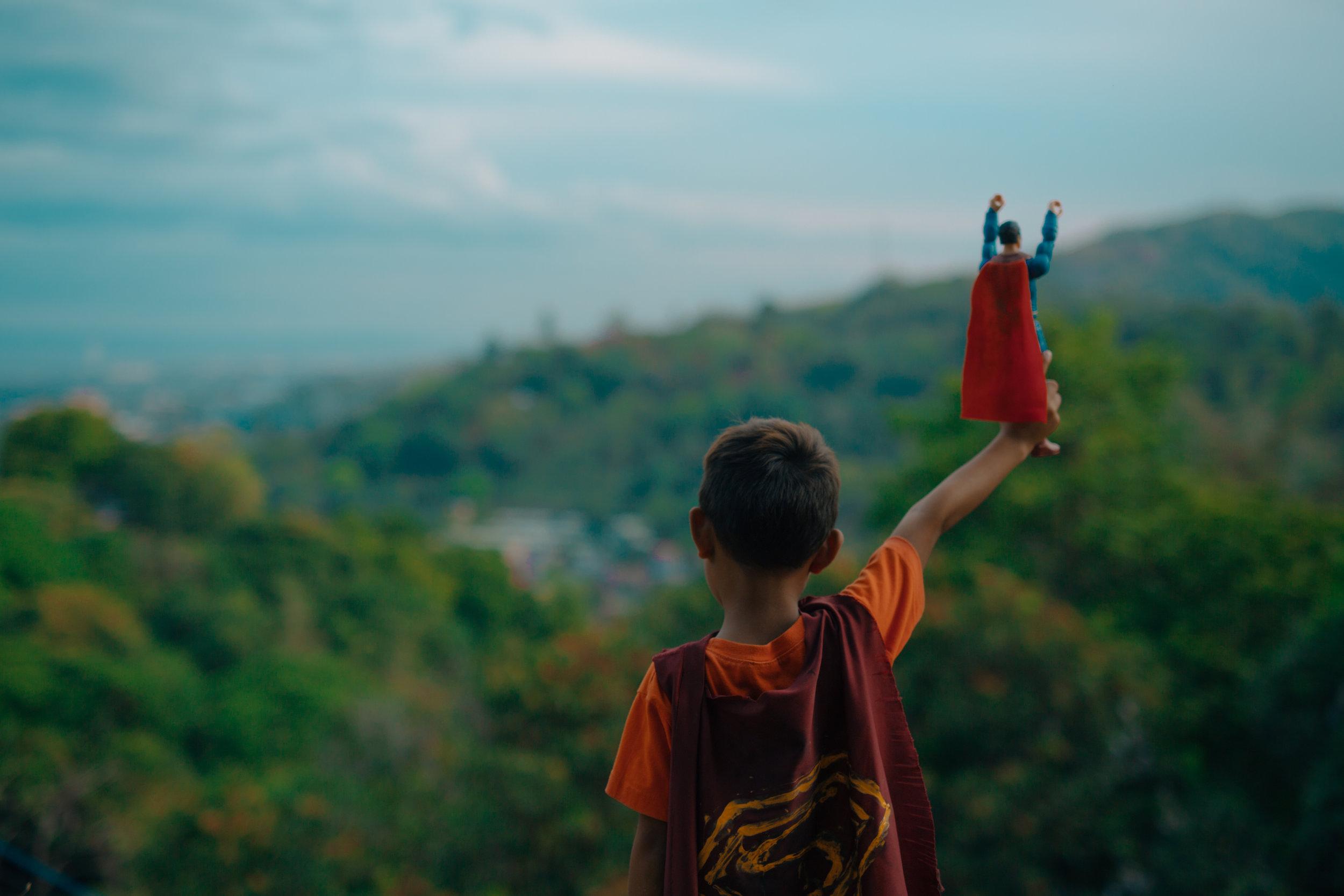 """Still from """"Super Maarko"""", a film by IJM"""