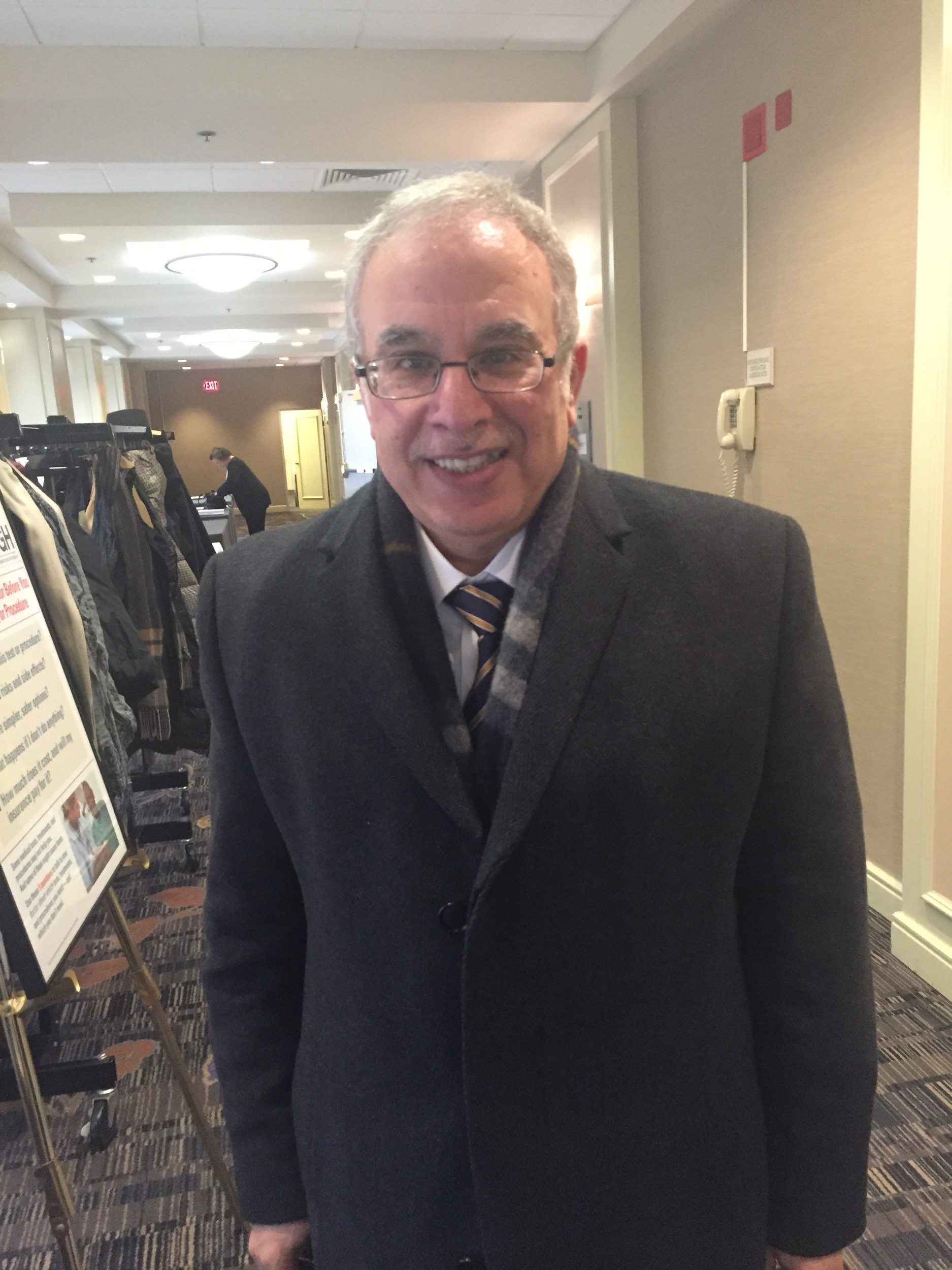 DR. OSAMA HAMDY, medical director of Joslin Diabetes Center's obesity clinical program, was the keynote speaker at the Rhode Island Business Group on Health diabetes summit on Jan. 20.  PBN PHOTO/NANCY KIRSCH