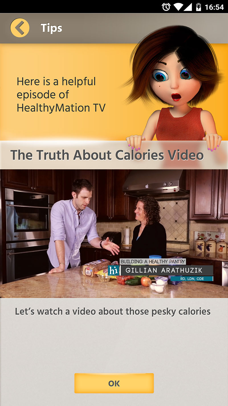 Engaging TV Content for Nutritional & Physical Fitness Education