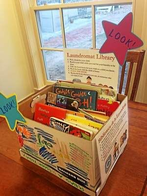 An Example of one of our Lending Libraries