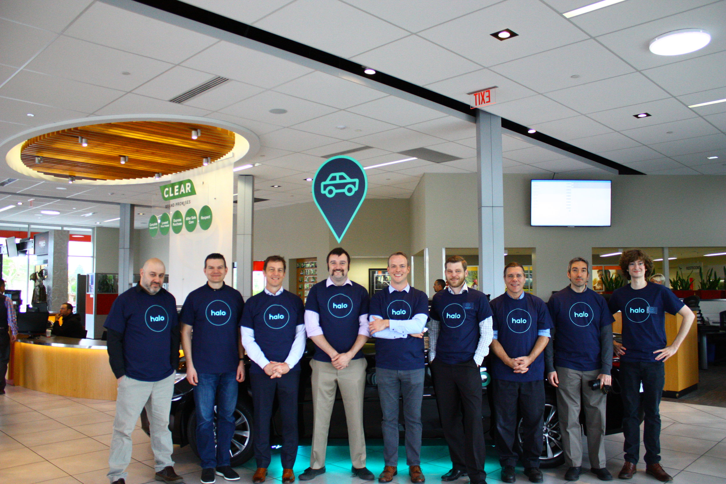The results were incredible ($250,000 top-line revenue first quarter) and all of our creative led to a palpable energy that transferred to everyone in the dealership. We officially launched Halo.