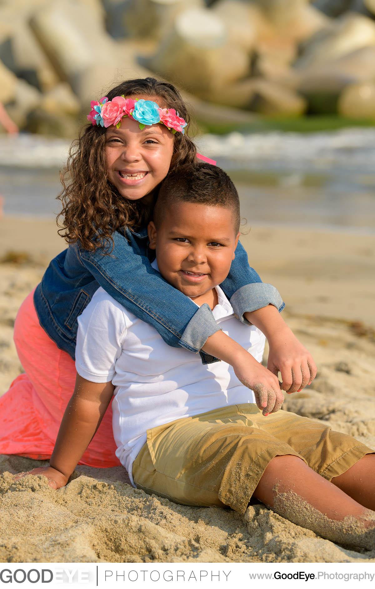 Seabright Beach Santa Cruz Family Photos - by Bay Area portrait