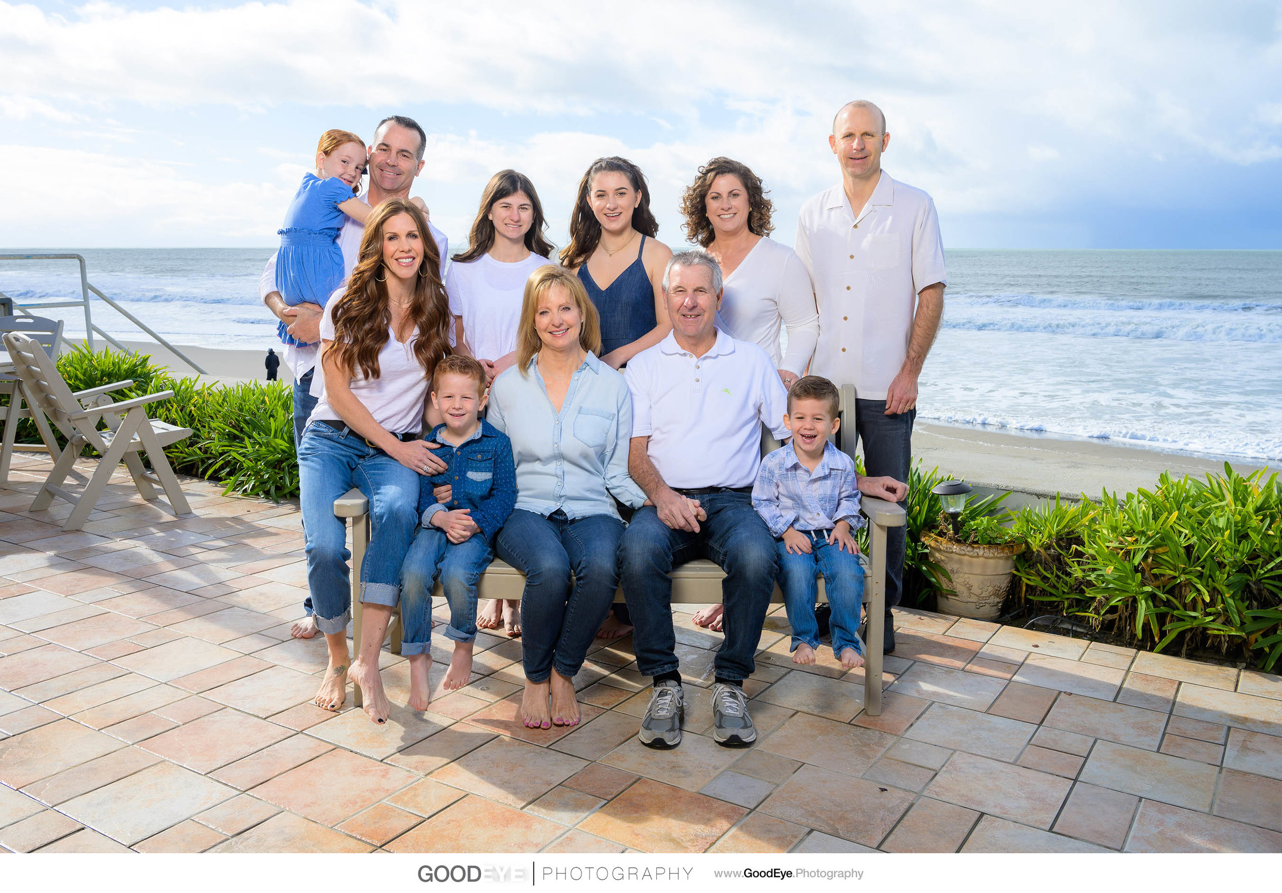 Seascape Aptos Multi-Generation Family Photography - by Bay Area