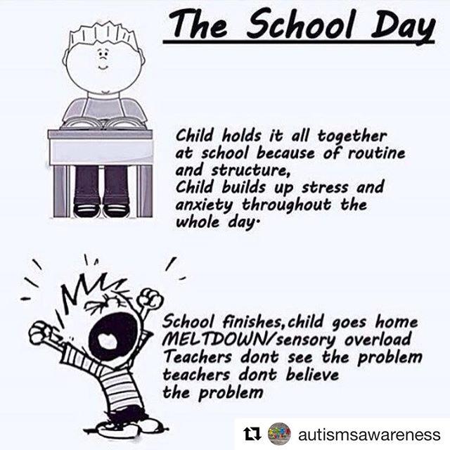 So true! Repost @autismsawareness . . . #specialeducation #specialneeds #specialneedsparent #specialneedsmom #specialneedskids #adhdmom #autismmom #momlife
