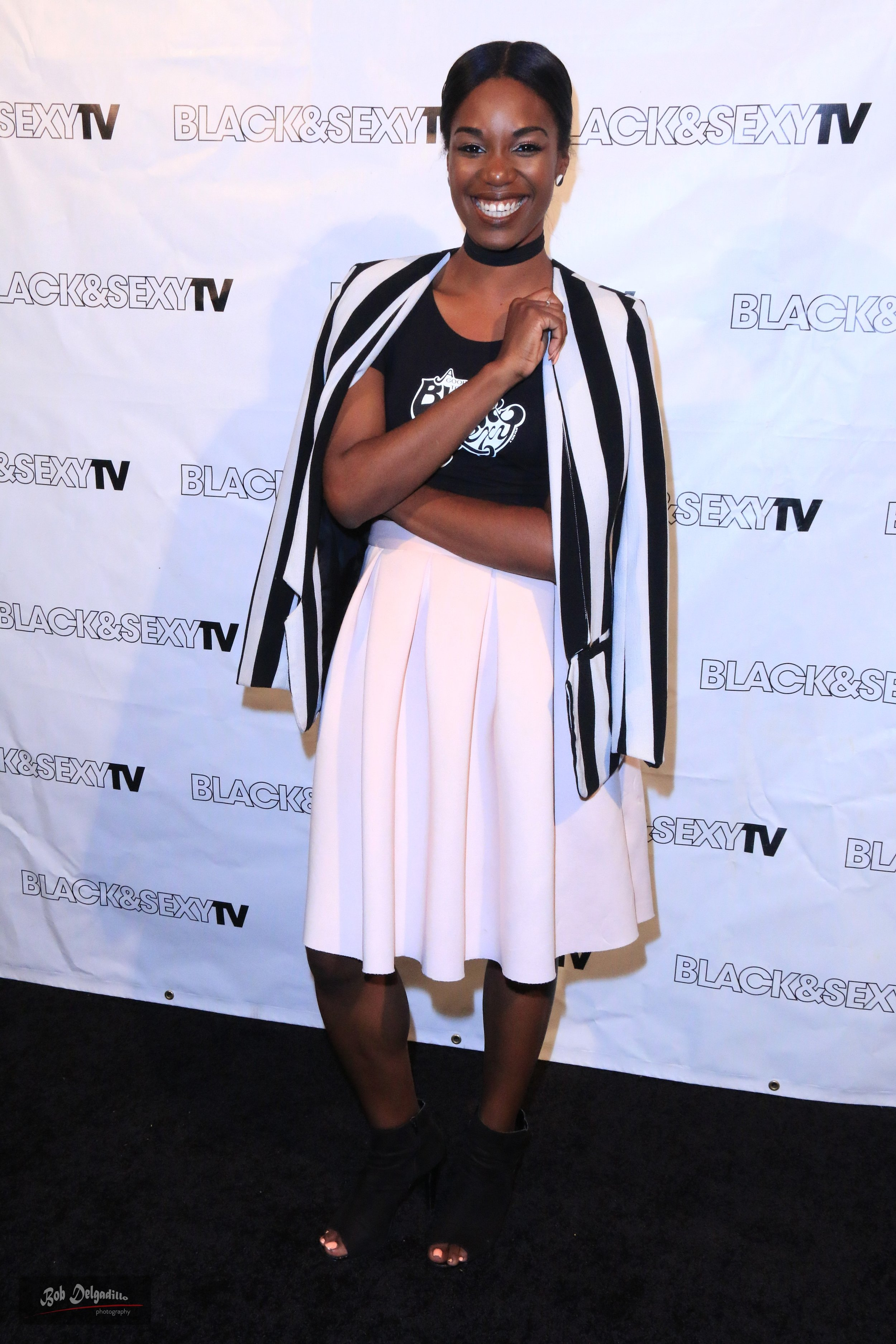 Hosting the Black & Sexy TV Season Finale Panel
