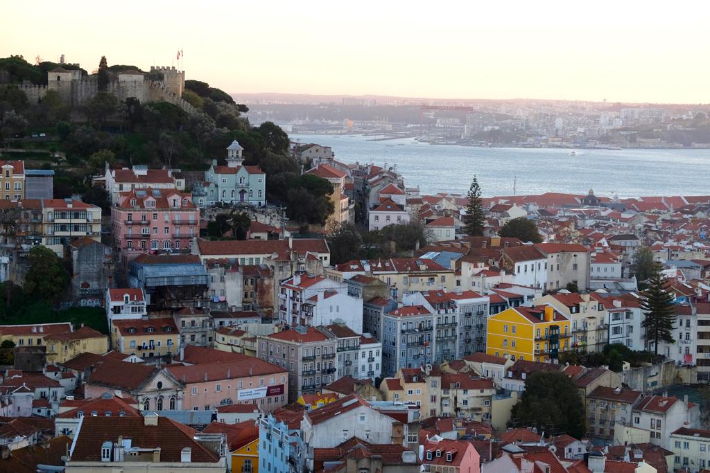The view from Miradouro do Castelo.