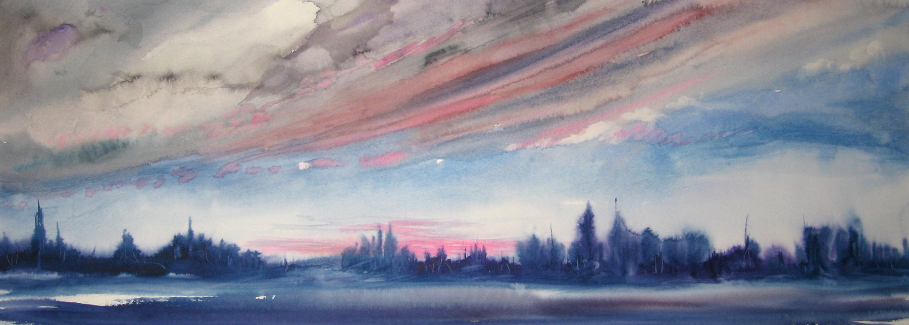 Allison Argy-Burgess, 'Boreal Sunset'