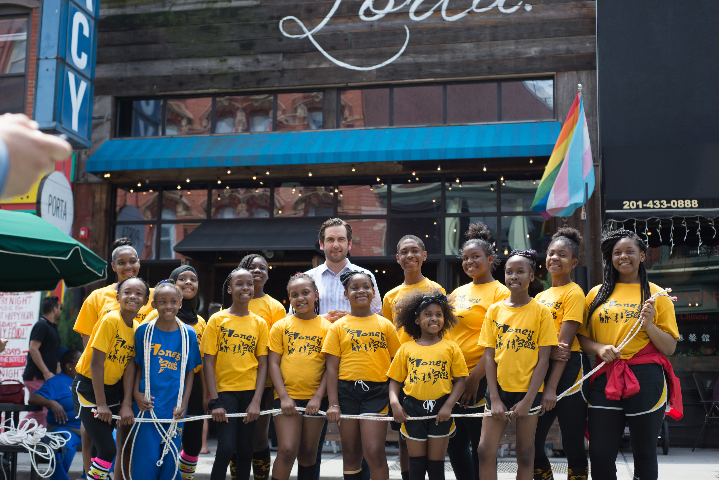 The Bees & Mayor Fulop