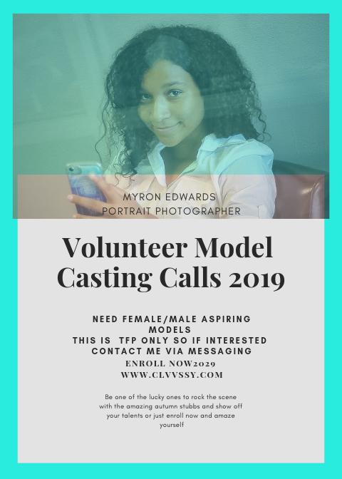 Volunteer Model Casting Calls 2019.png