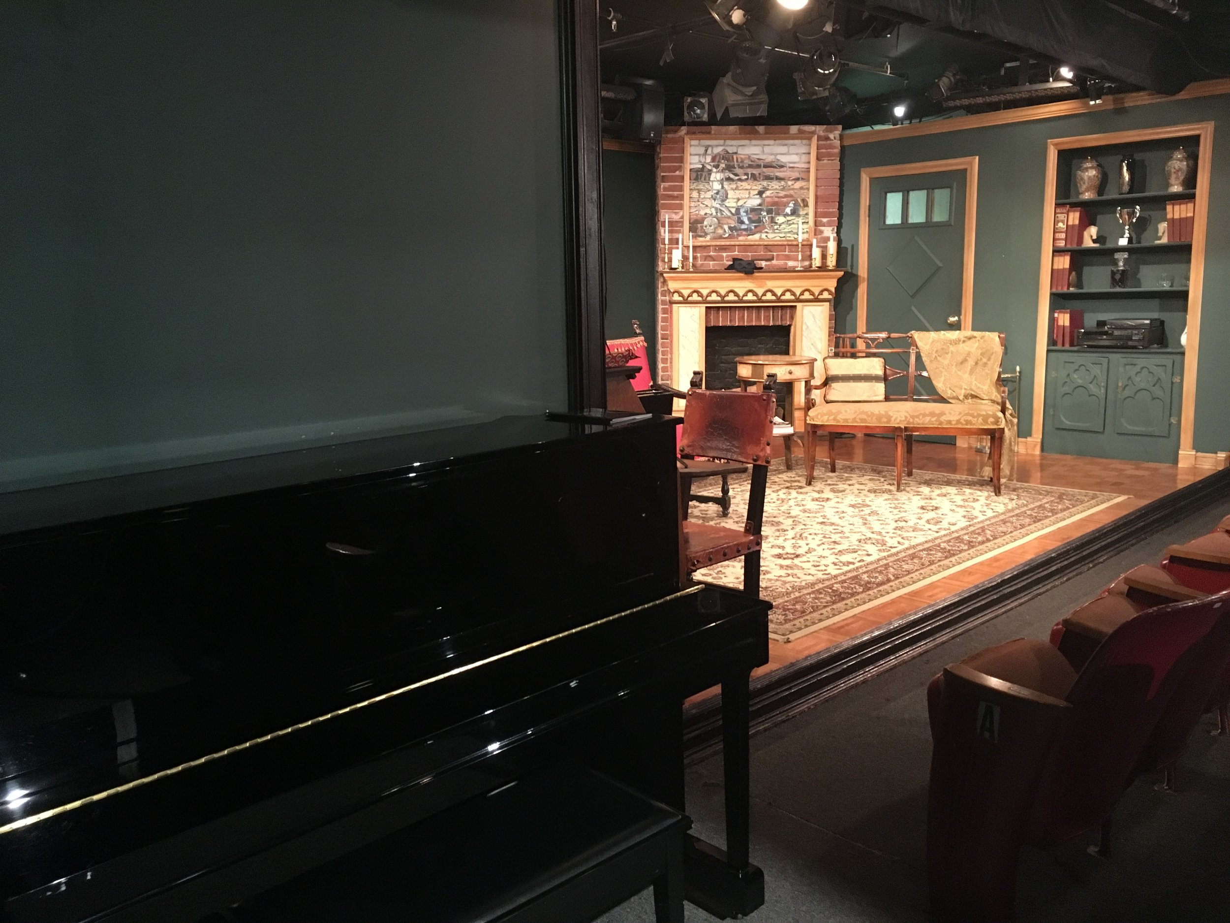 Anne L. Bernstein Theater Stage  - After