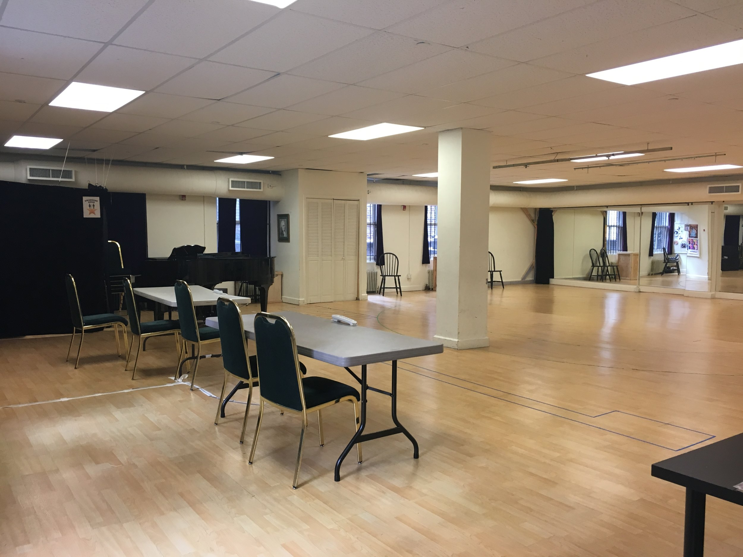 4th Floor Rehearsal Space -  After