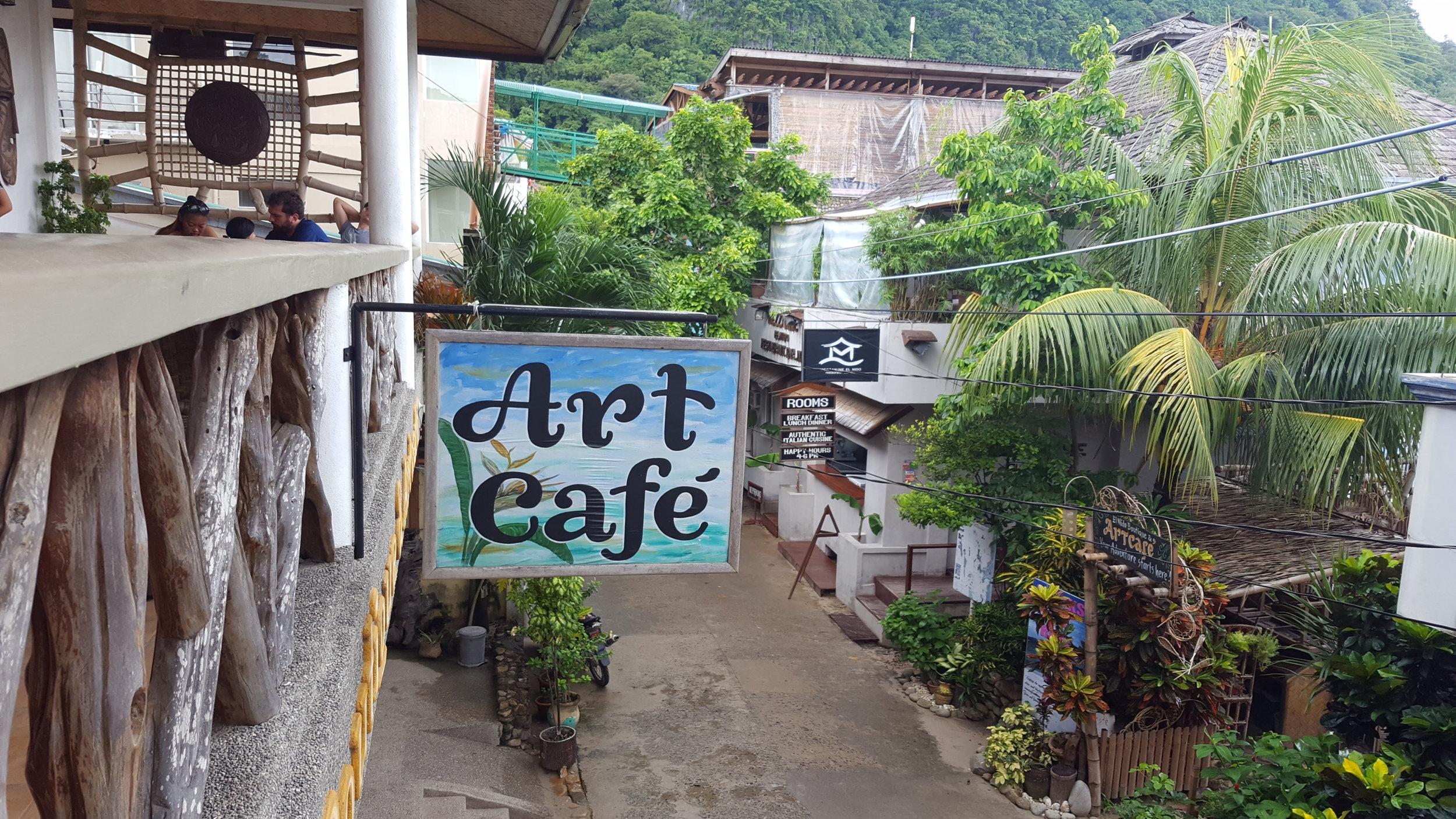 Art Cafe El Nido, Palawan