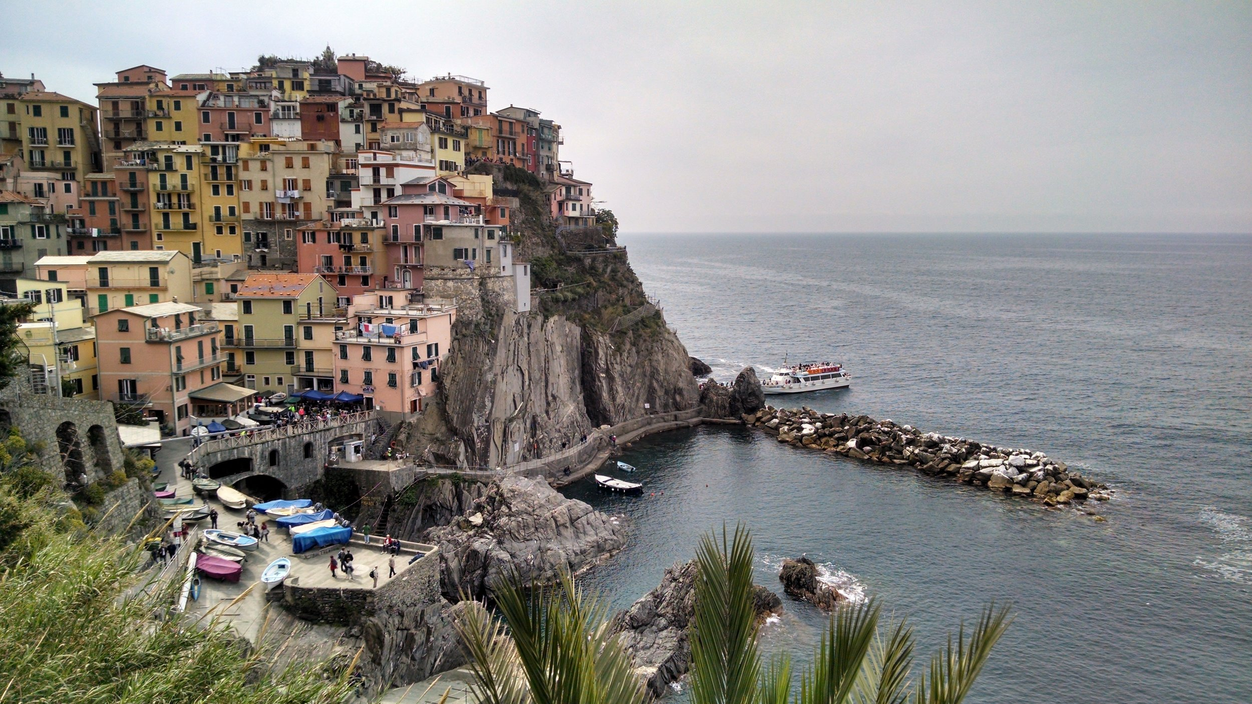 Study abroad course loads are often fairly light, allowing for plenty of time for weekend trips. Cinque Terre anyone?