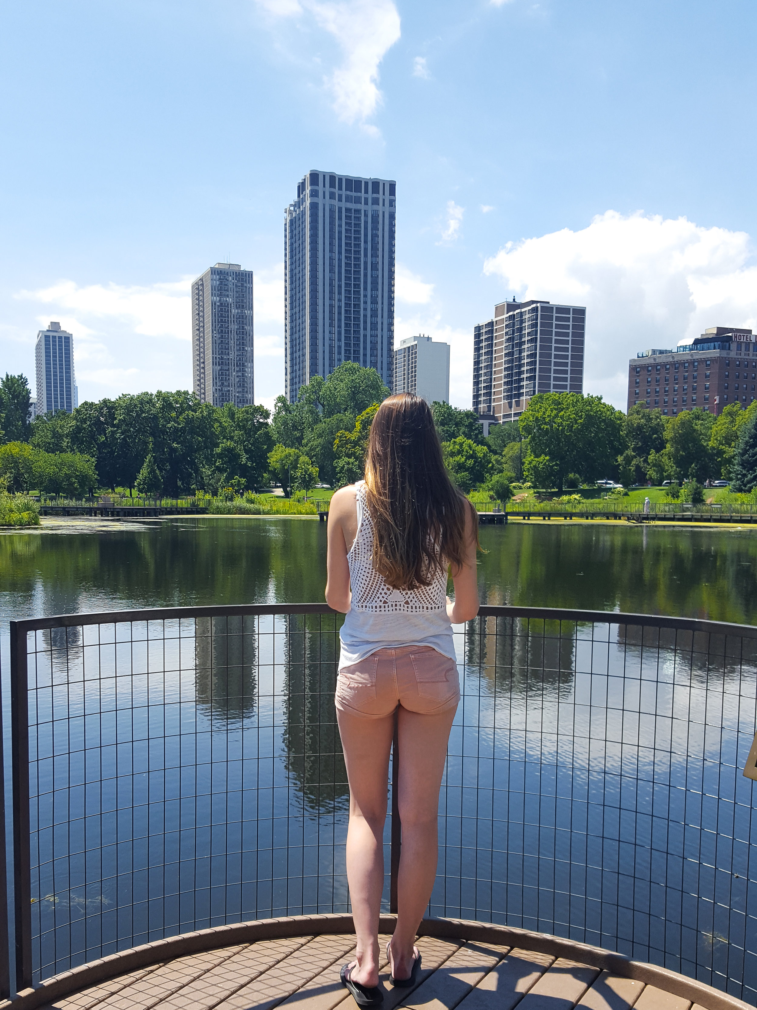 Think zoo pics, greenery, and pond reflections when it comes to photographing Lincoln Park