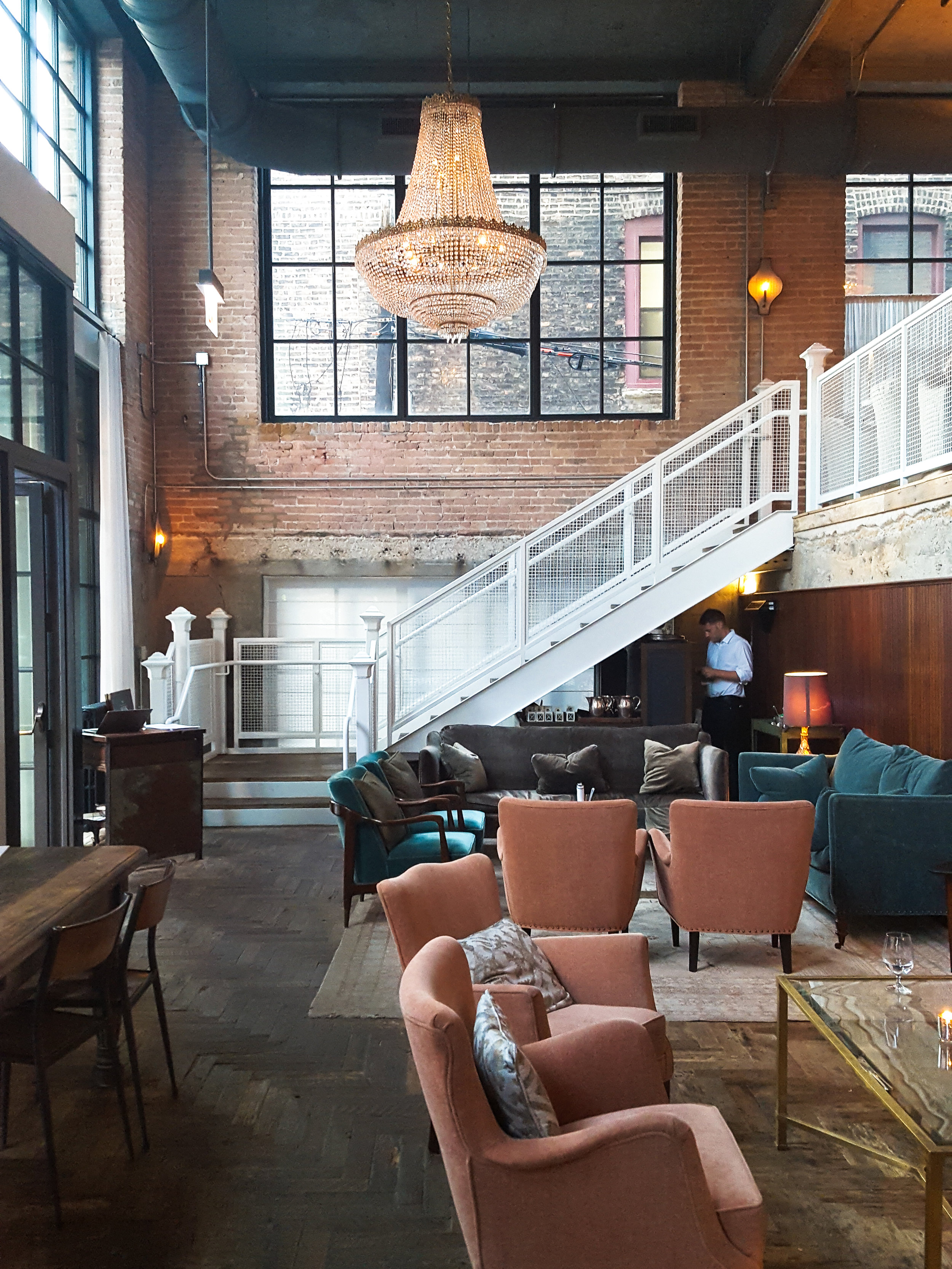 Could've spent all day in The Allis at Soho House Chicago