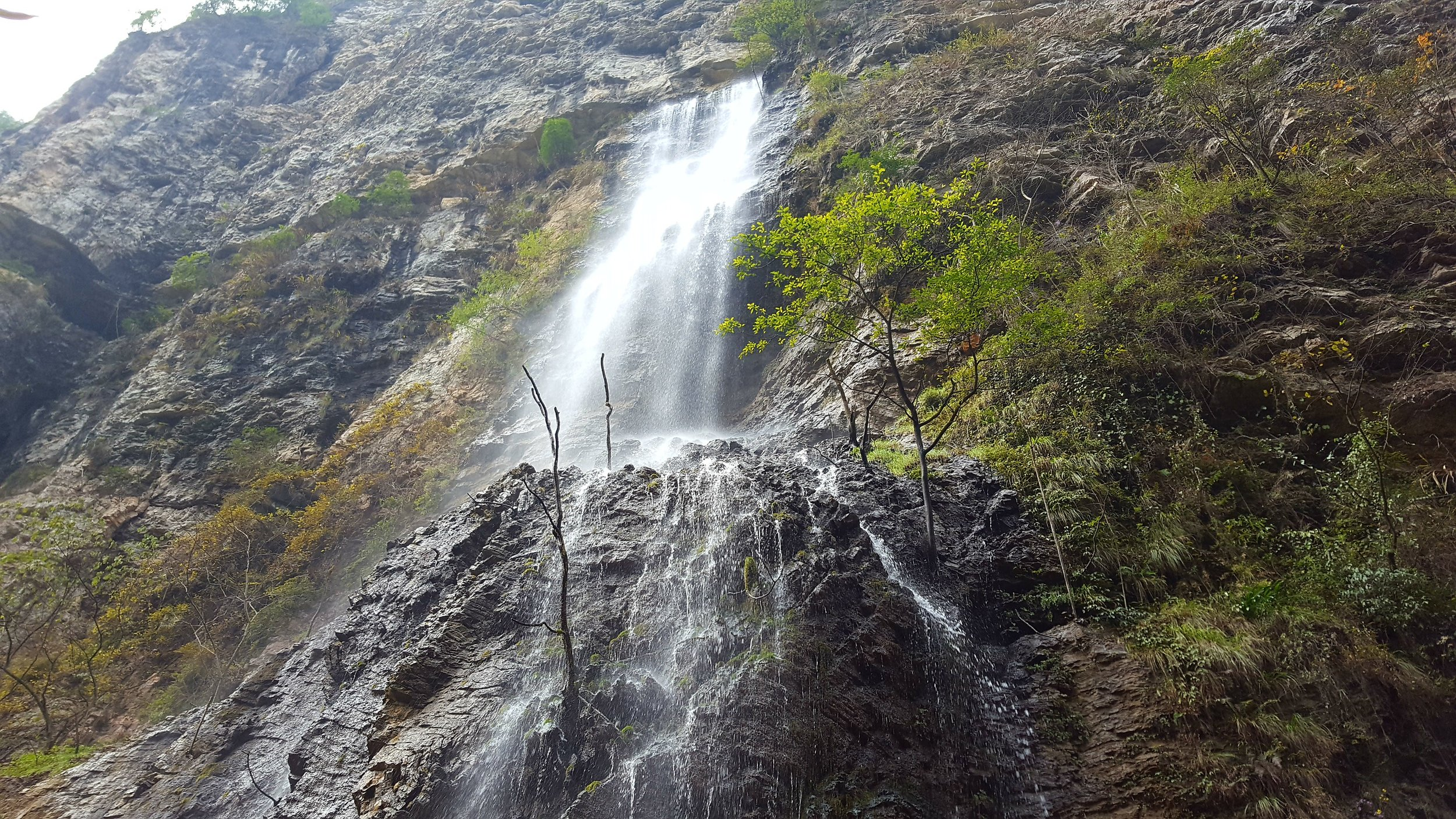 Reading through countless blog articles on China helped me find this waterfall