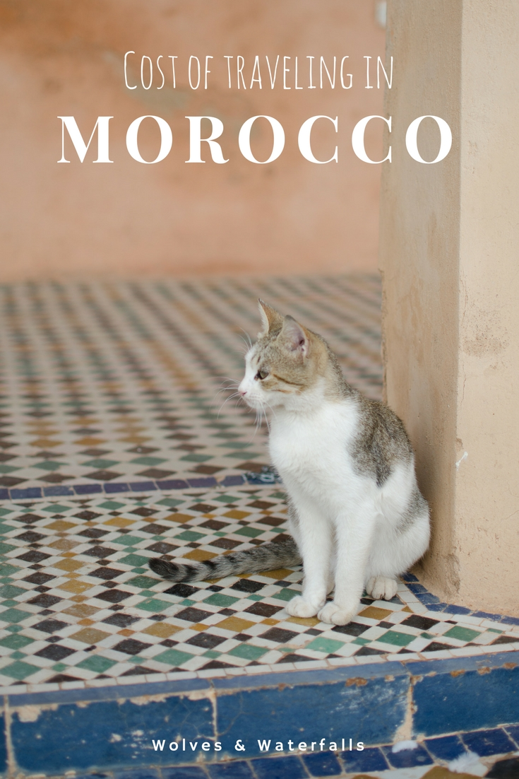 Cost of traveling in Morocco
