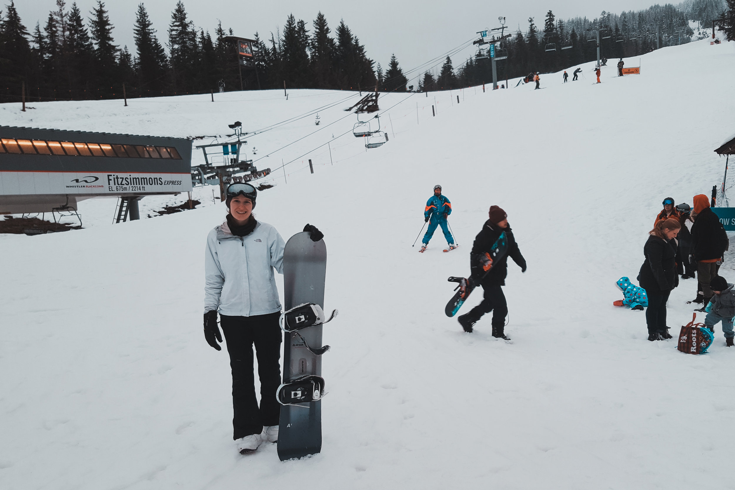 Spent the weekend at Whistler and didn't break the bank!